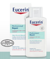 Eucerin Professional Repair Lotion Sample