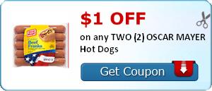 Oscar Mayer Hot Dogs Coupon