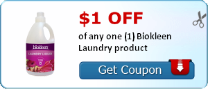 Biokleen Laundry Coupon